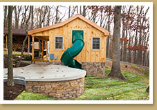 Premier Playhomes - Play Area & Exit Slide