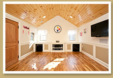 Premier Playhomes - Cathedral Ceiling